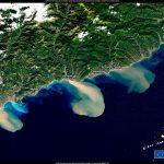 I sedimenti delle alluvioni trasportati dai fiumi verso il mare: gli effetti del maltempo al Nord Italia visibili dallo Spazio [FOTO]