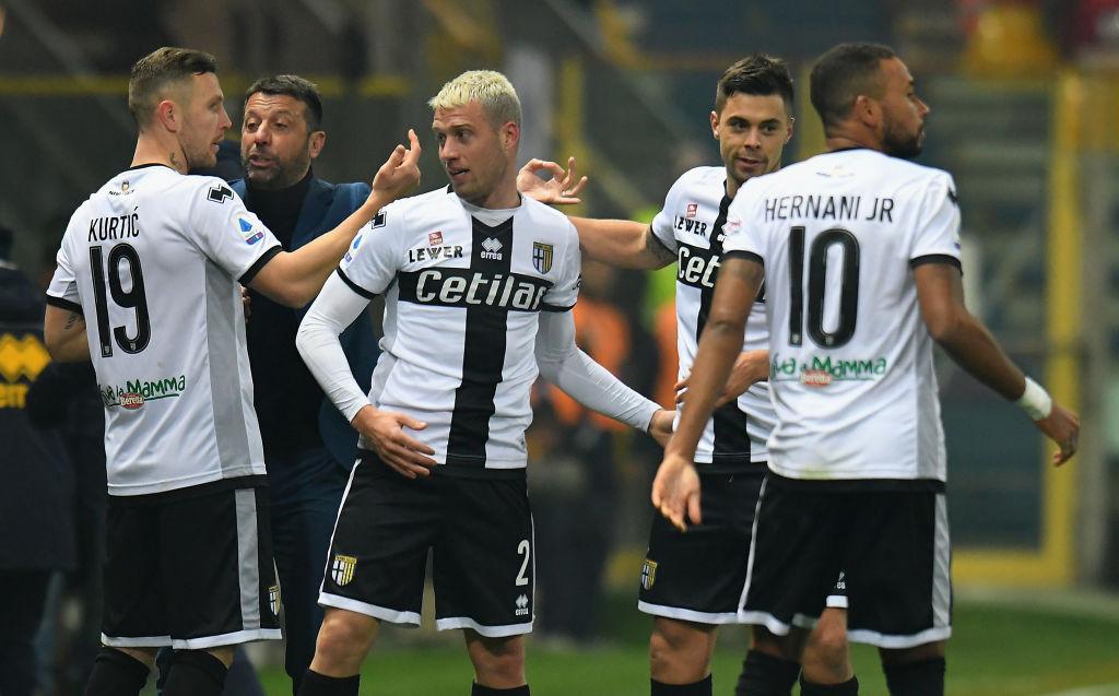 Parma, quattro calciatori positivi al coronavirus