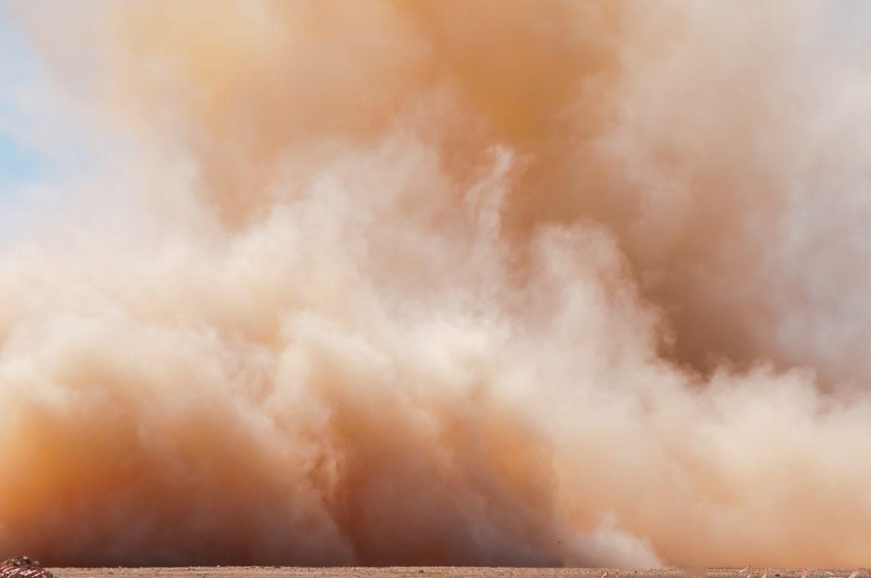 polvere sabbia gialla