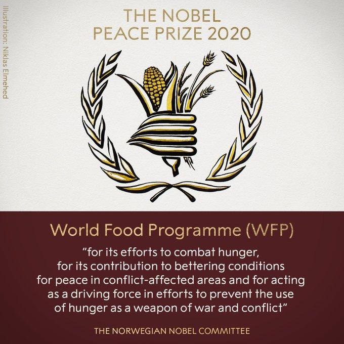 premio nobel pace 2020