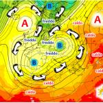 """Previsioni Meteo, rarissimo """"doppio Ciclone"""" sul Nord Italia a metà settimana: provocherà una bomba di maltempo"""