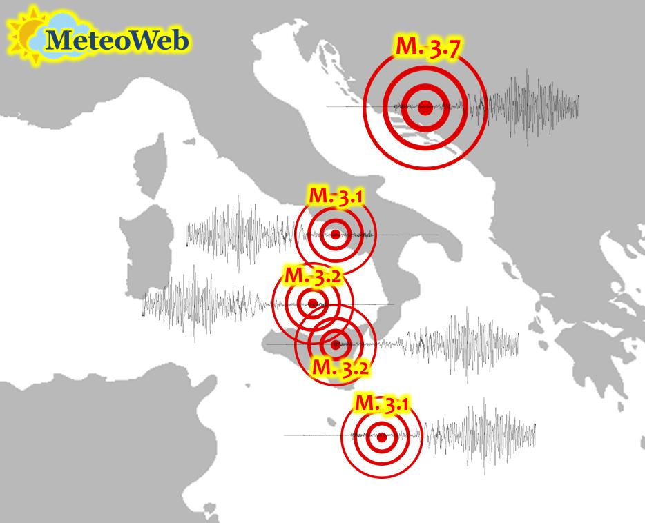 terremoti sud italia 24 ottobre 2020