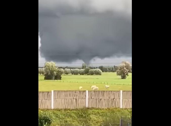 tornado belgio