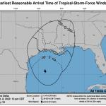 L'Uragano Delta avanza verso la costa sud degli USA: allarme alluvioni lampo e tornado in Louisiana e Mississippi [MAPPE]