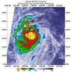 Meteo, l'Uragano Marie è un mostro di categoria 4 con venti fino a 209km/h: è il 3° uragano maggiore della stagione nel Pacifico orientale [MAPPE]