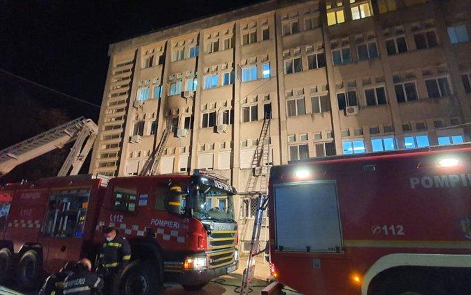 Romania, incendio nella terapia intensiva di un ospedale Covid