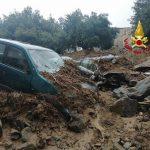 Alluvione Sardegna, piogge violentissime nel Nuorese: ad Oliena oltre 500mm in 24 ore