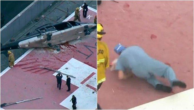 cuore incidente elicottero
