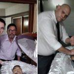 Foto shock col corpo di Maradona: scatta l'inchiesta per profanazione di cadavere, padre e figlio tra gli indagati