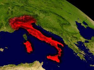 italia cartina mappa
