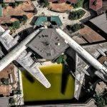 Un mondo sospeso, il ristorante sugli aerei di Villamarzana: un progetto unico per realizzare i desideri degli anziani [FOTO]