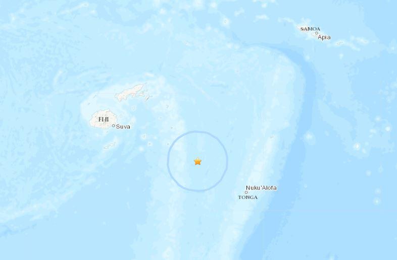 terremoto fiji tonga