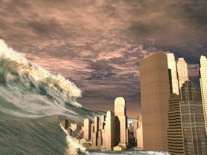 tsunami maremoto città
