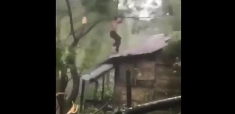 uomo uragano eta nicaragua