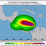 "Uragano Iota in arrivo in Honduras, già devastato da ""Eta"": potrebbe raggiungere la categoria 3 [MAPPE]"