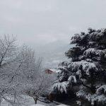 Maltempo e neve in Valle d'Aosta: punte di 50-60 cm lungo la dorsale alpina, allerta valanghe [FOTO]