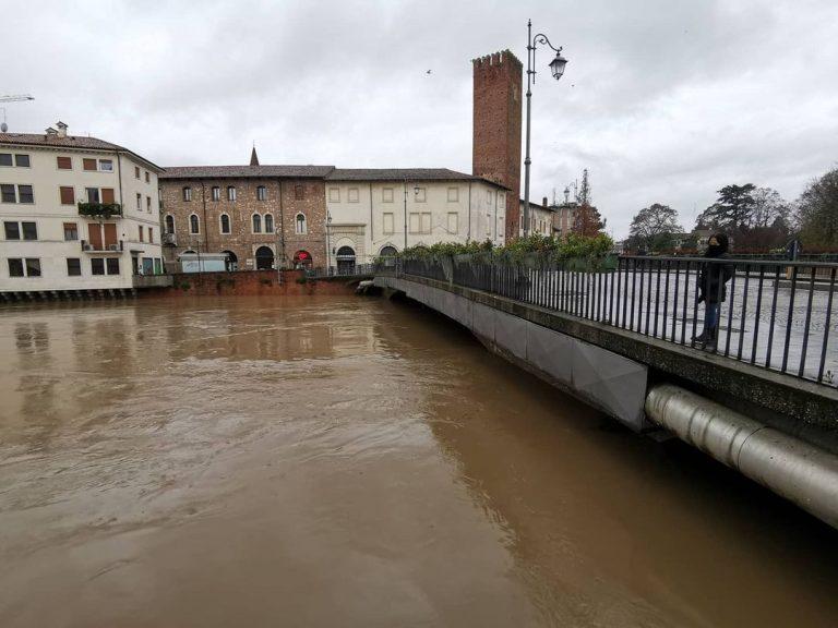 La piena del Bacchiglione a Vicenza