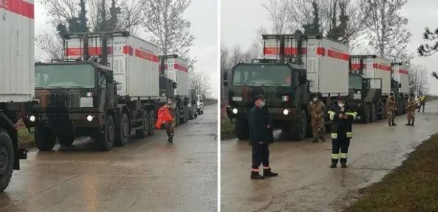 camion tende croazia