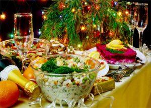 capodanno cena russia