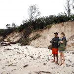Forte maltempo in Australia, piogge torrenziali, forti venti ed eccezionali maree: cancellata la spiaggia turistica di Byron Bay [FOTO]