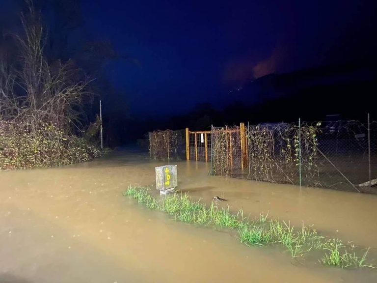 Esondazione fiume Aniene