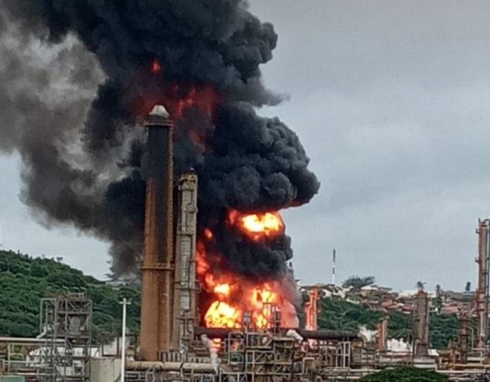 esplosione sudafrica