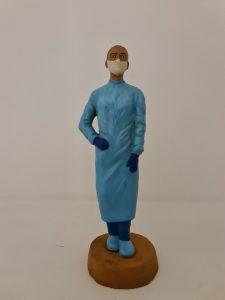 presepe infermiera
