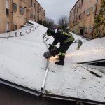 Maltempo Lazio: esondati l'Aniene e il Liri, evacuazioni ad Accumoli per una frana che minaccia le casette [FOTO]