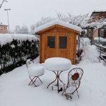 Maltempo Lombardia, lo spettacolo della neve a Bergamo: alberi caduti, blackout e strade bloccate in provincia, 15cm a Milano [FOTO]