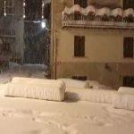 Bufera di neve in Abruzzo, spettacolari immagini da Pietracamela [FOTO e VIDEO]