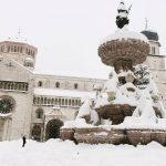Maltempo Trentino Alto Adige, fino 60cm di neve in quota: super nevicata a Trento [FOTO]