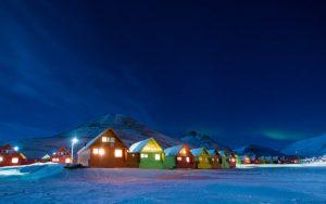 svalbard notte polare