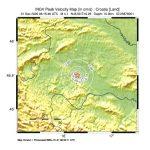 Sciame sismico in Croazia: altra notte di paura e freddo, nuovo terremoto magnitudo 4.1 tra Petrinja e Sisak [DATI e MAPPE]