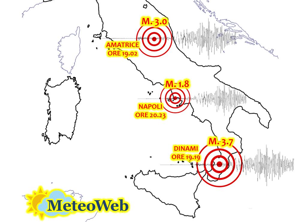 terremoto italia 2 dicembre 2020