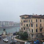 Maltempo, nevica in pianura in Veneto: Vicenza si sveglia imbiancata [FOTO]