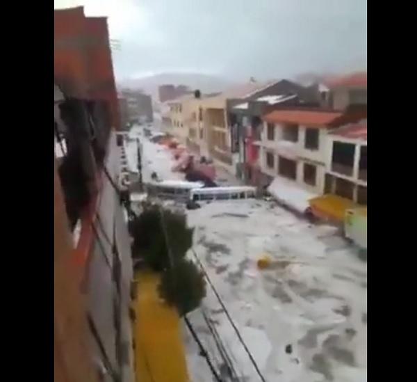 alluvione sucre bolivia