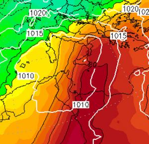 caldo record 10 gennaio 2021