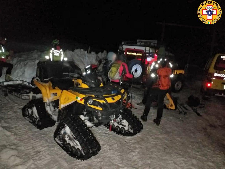 escursionisti monte baldo soccorso alpino