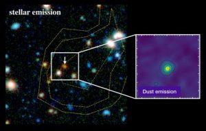galassia alma hubble