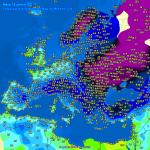 Meteo, ancora gelo in Europa: -18°C a Kiev e Varsavia, temperature estreme anche in Grecia [DATI]