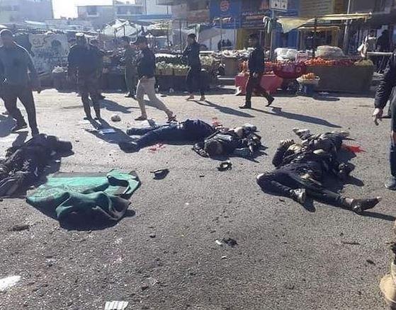 Doppio attentato a Baghdad, almeno 35 morti e 80 feriti: l'Isis rivendica