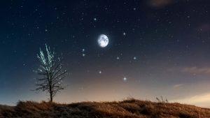 luna circolo invernale