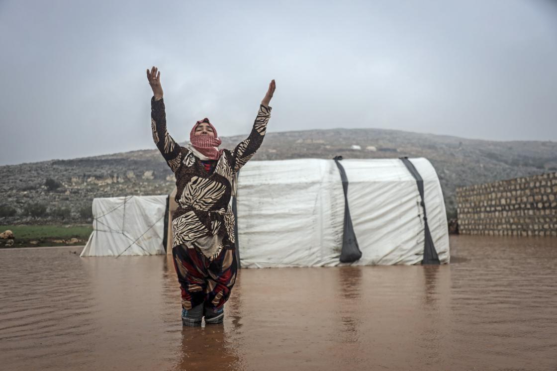 alluvioni siria