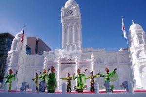 sapporo festival neve