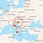 Terremoto Croazia, scossa di magnitudo 4 a ovest di Sisak: avvertito anche in Italia