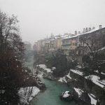 Maltempo: nevicate nella notte in Valtellina e Valchiavenna, brusco abbassamento delle temperature [FOTO]