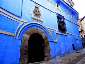 Atún blanco de la casa azul