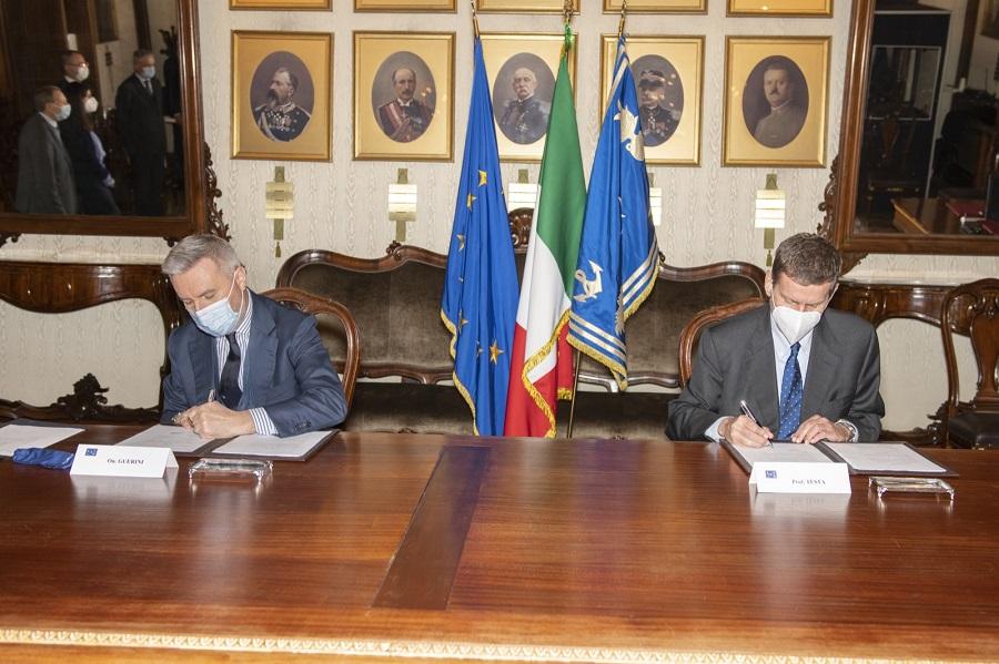 Firma accordo Difesa-ENEA