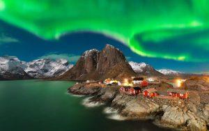Henningsvær aurora boreale