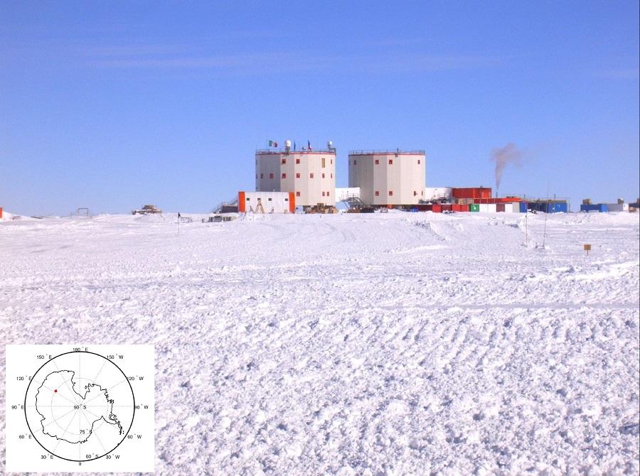 La stazione italo-francese CONCORDIA, Dome C, Antartide (ph. D. Di Mauro, PNRA/IPEV)